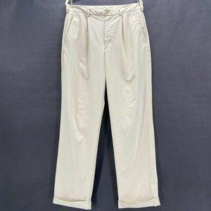 Nike Golf Dri-Fit Khaki Cuffed Pants Mens 34X32